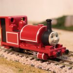 Motorizing the Bandai TECS Skarloey