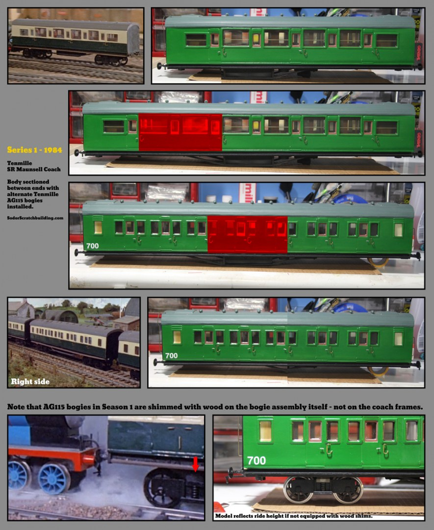 A Myriad Of Maunsell Express Coaches Sodor Scratchbuilding